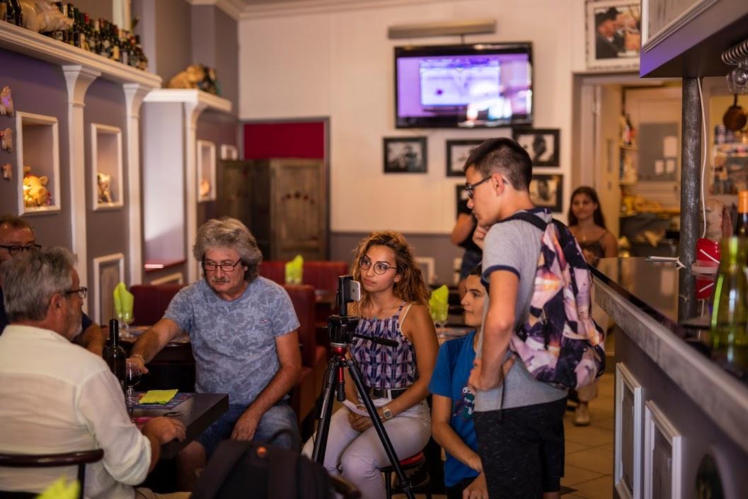 Atelier avec les jeunes de l'accueil Jeunes de Ginestas - 2018