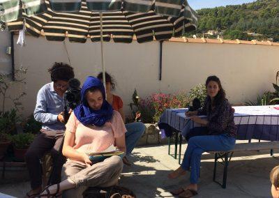 Des Couacs et des Poetes - Tournage