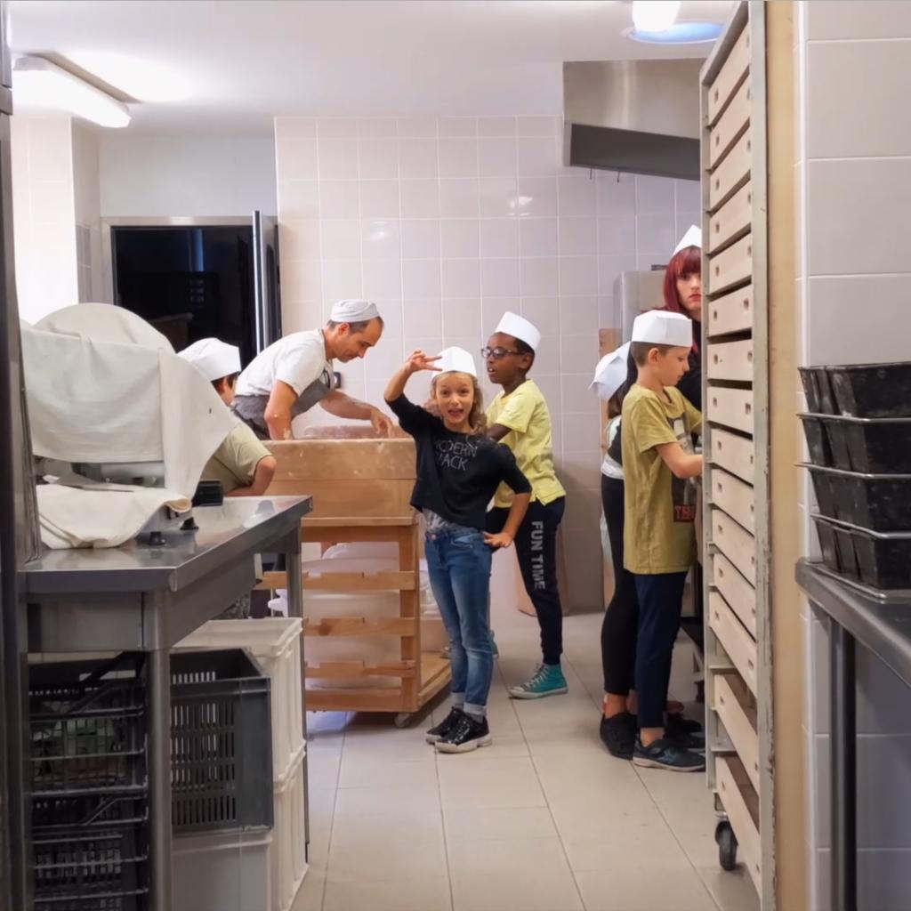 Du Grain au Pain - Ecole d'Azillanet - octobre 2019